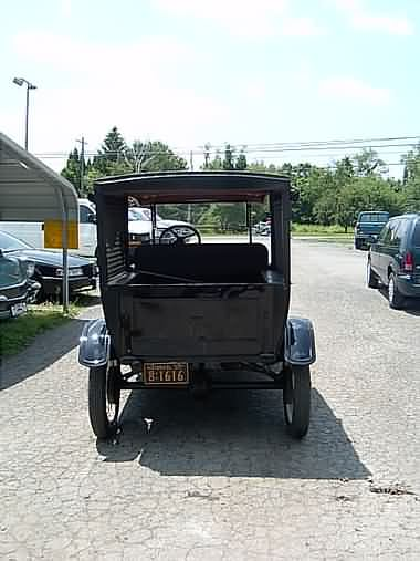 1927 Ford Model T Pie Wagon